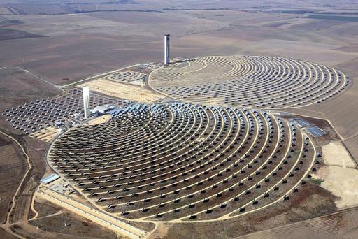 Centrale solaire près de Séville