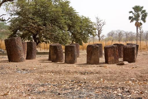 Cercle de pierres en Gambie