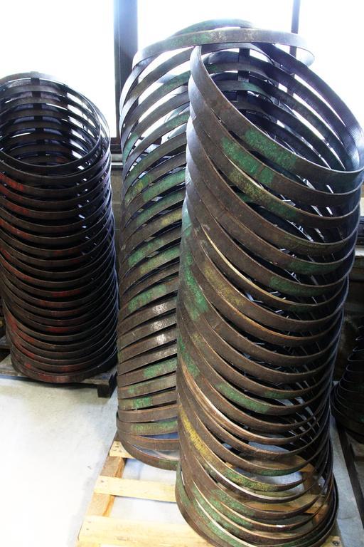 Cercles métalliques pour tonneaux