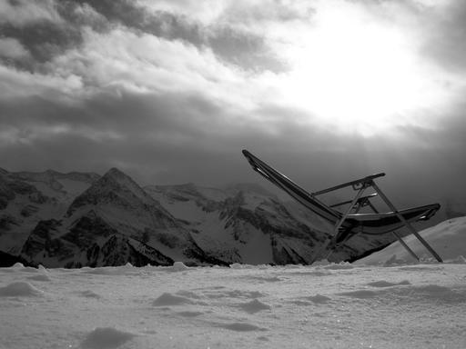 Chaise à la montagne