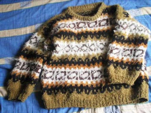 Chandail de laine chilien