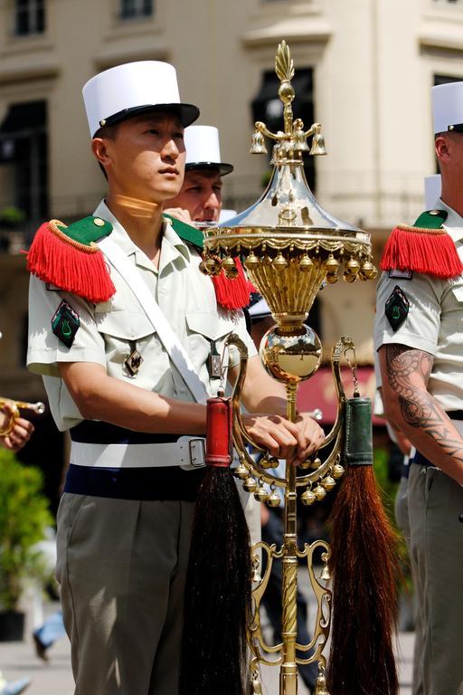 Chapeau chinois de musique militaire