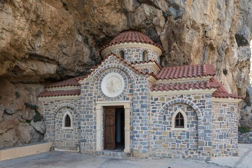 Chapelle byzantine en Crète