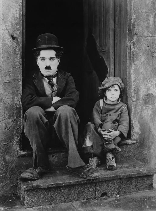 Chaplin Chaplin, The Kid en 1921