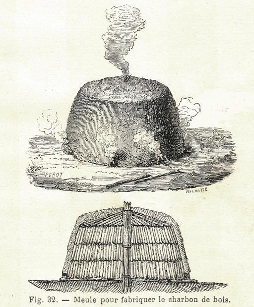 Charbonnière artisanale