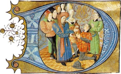 Charles d'Orléans reçoit l'hommage d'un vassal