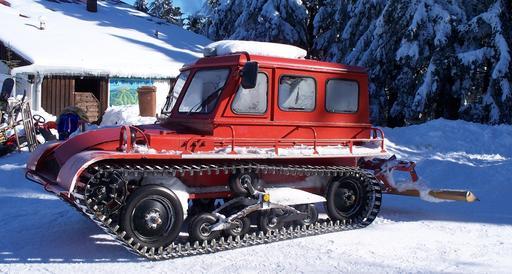 Chasse neige en Bavière