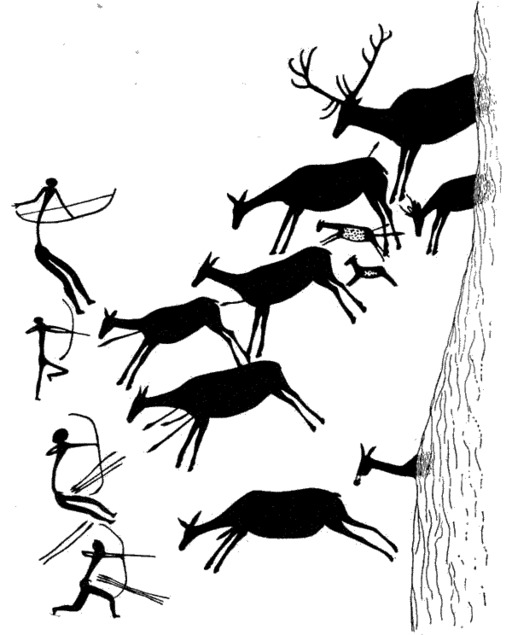 Chasseurs préhistoriques