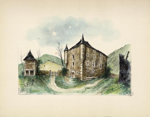 Château de Béon et pigeonnier