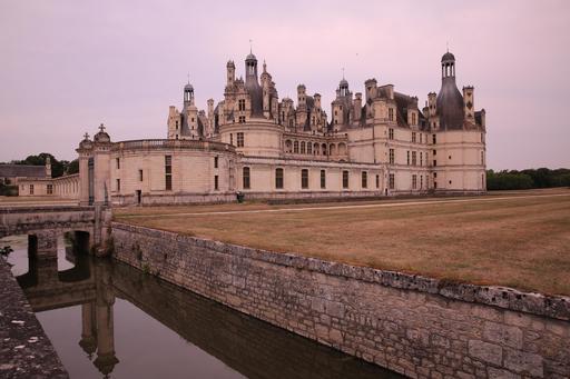 Château de Chambord au lever du soleil