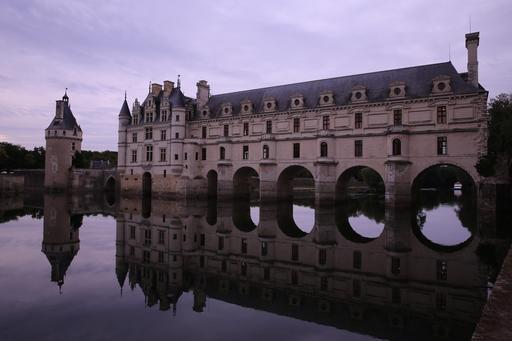 Château de Chenonceau et son reflet