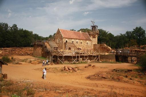 Château de Guédelon en août 2012