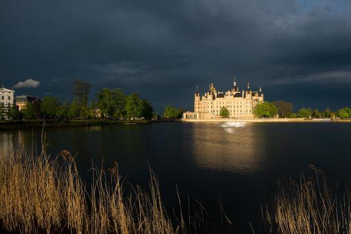 Château de Schwerin en Allemagne