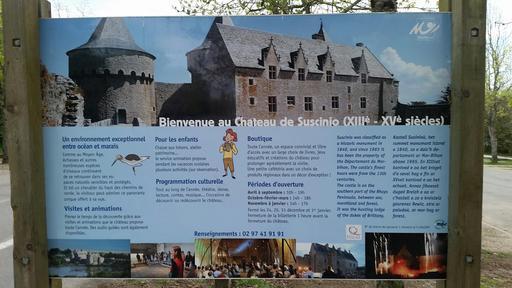 Château des ducs de Bretagne à Suscinio