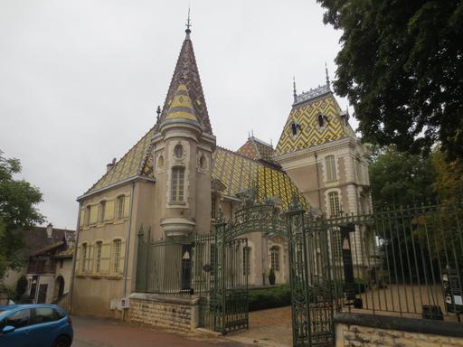 Château viticole en Bourgogne