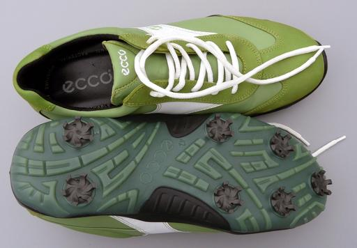 Chaussures de golf vertes