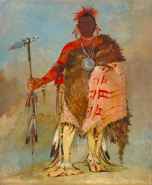 Chef indien en 1832
