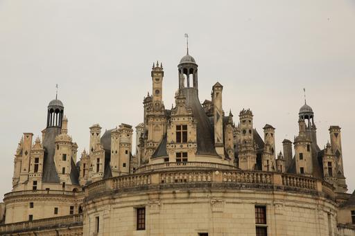 Cheminées du château de Chambord