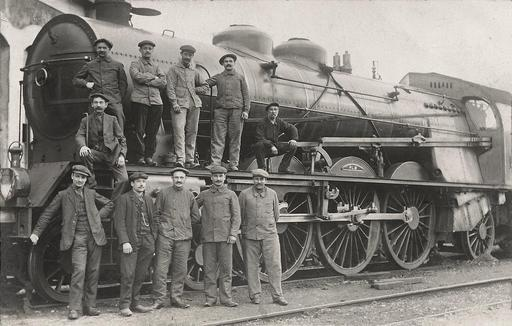 Cheminots du PLM en 1912
