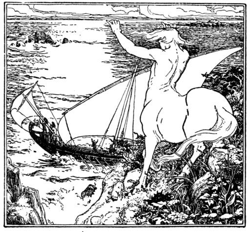 Chiron et les Argonautes