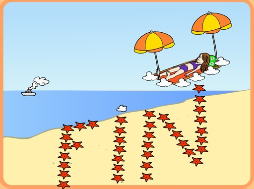 Chloé à la plage rêve