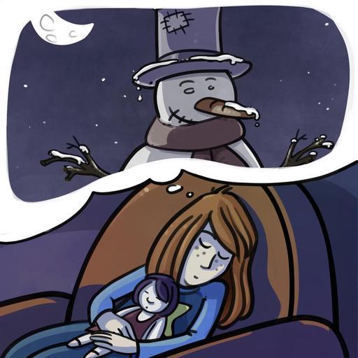 Chloé à Noël - son rêve