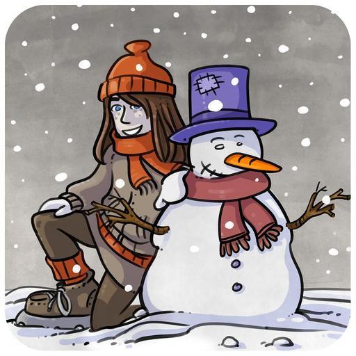 Chloé et la neige 05