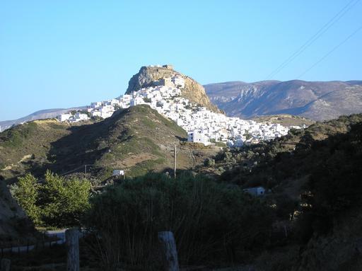 Chôra de l'île de Skyros en Grèce