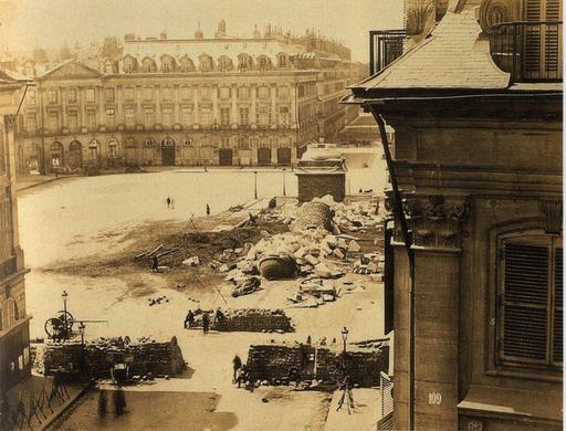Chute de la colonne Vendôme