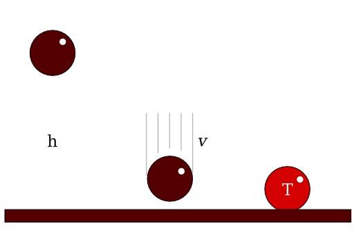 Chute libre : trois formes successives d'énergie