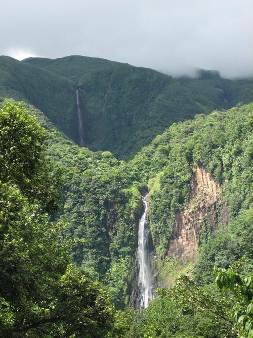 Chutes du Carbet en Guadeloupe