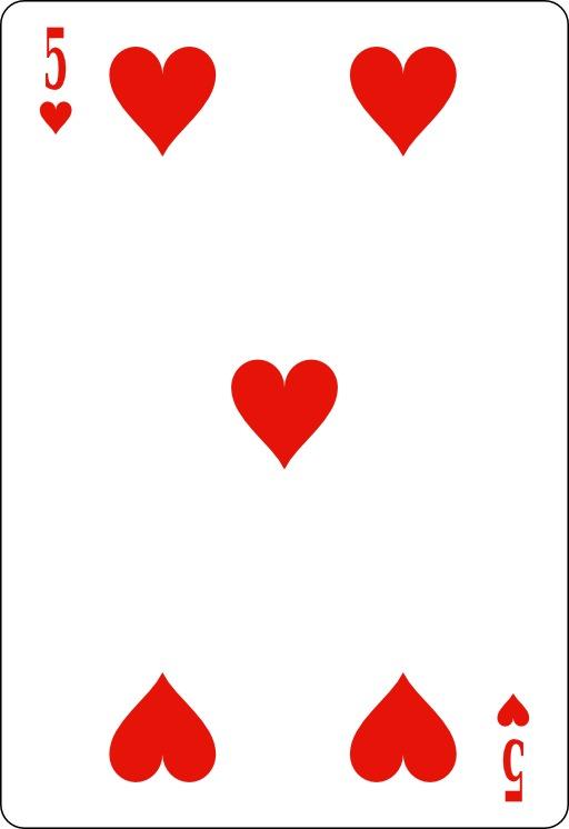 Cinq de coeur