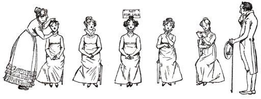 Cinq filles à marier