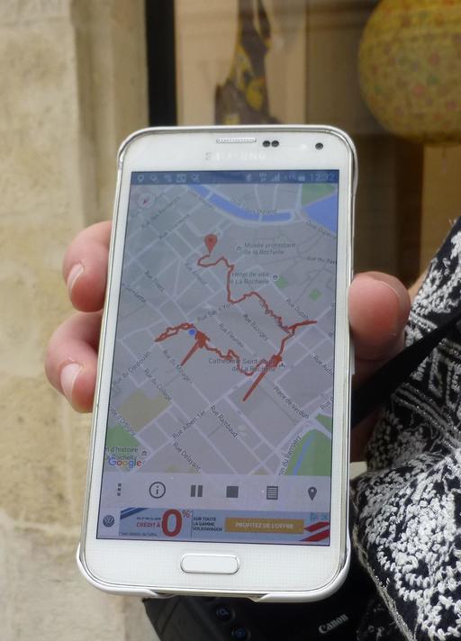 Circuit pédestre GPS à La Rochelle