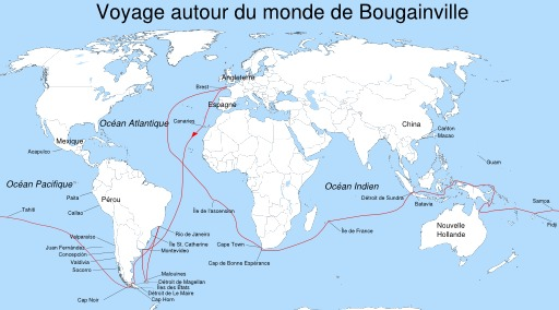 Circumnavigation de Bougainville
