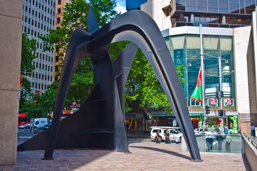 Cisailles de Calder à Sydney