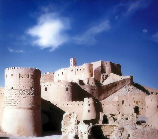 Citadelle de Bam en Iran