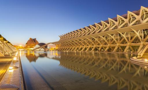 Cité des arts et des sciences à Valence