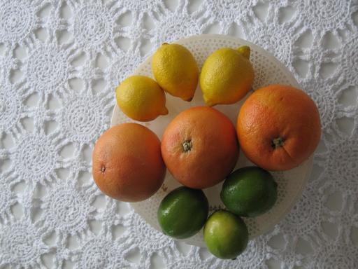 Citrons et clémentines