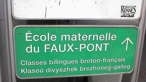 Classe bilingue à Rennes en 2002