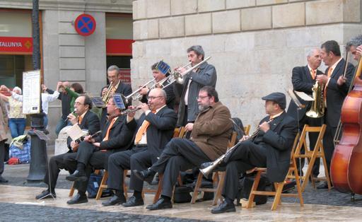 Cobla catalane à Barcelone