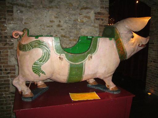 Cochon de manège