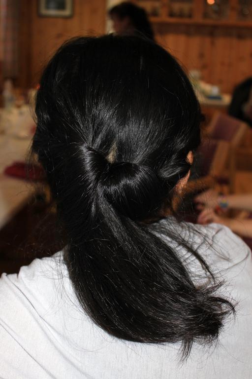 Coiffure féminine asiatique