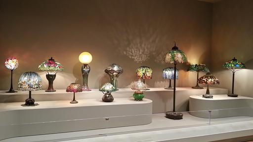 Collection de lampes de Tiffany