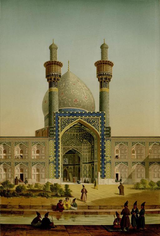 Collège de la mère du Shah Sultan Hussein en 1840