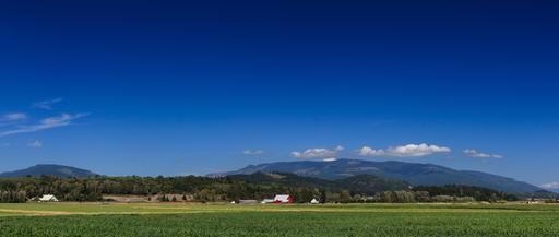 Collines dans le Vermont