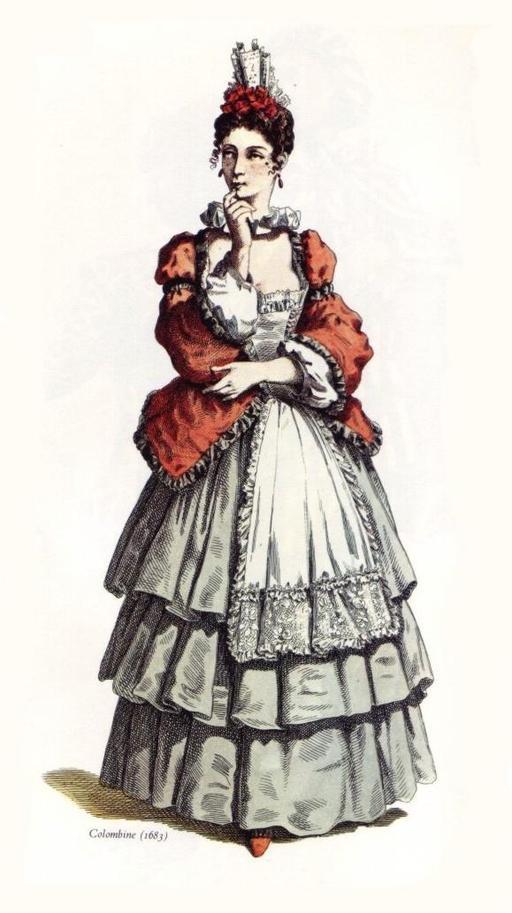 Colombine en 1683