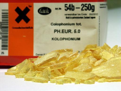 Colophane pharmaceutique