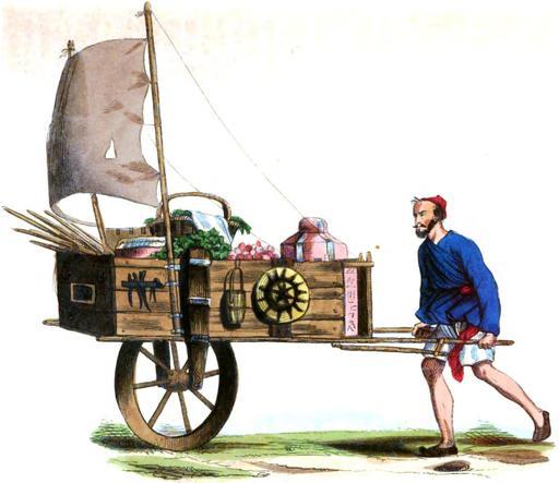 Colporteur chinois en 1843