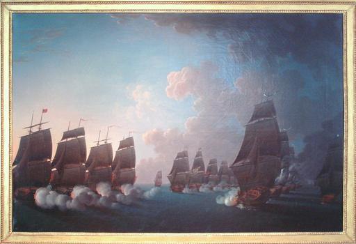 Combat de la Dominique 1780